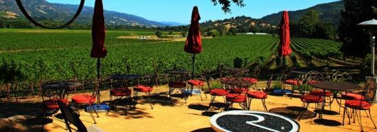 Rivino Winery: Fire pit