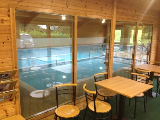 Willersley Castle Hotel pool