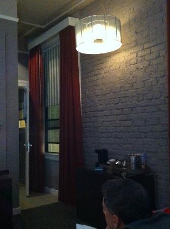Hotel Union Square : Inside Room