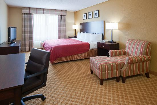 Country Inn & Suites By Carlson, Coon Rapids : King Guest Room