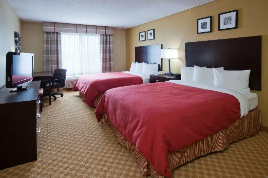 Country Inn & Suites By Carlson, Coon Rapids : 2 Queen Guest Room