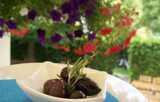 Restaurant Avli: Oliven aus Kalamata