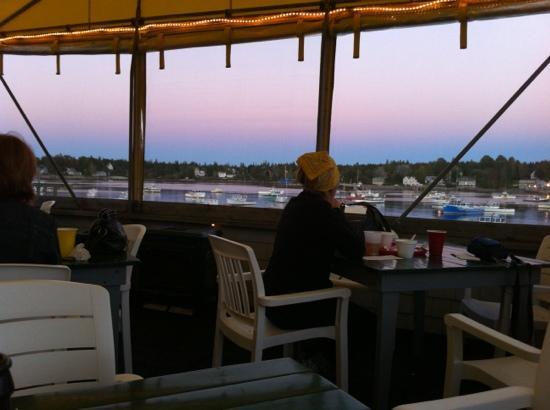 Thurston's Lobster Pound: beautiful view