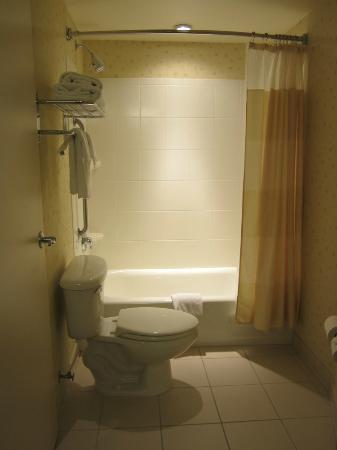 SpringHill Suites Medford: Shower room