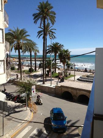 Hotel Subur: Blick vom Balkon