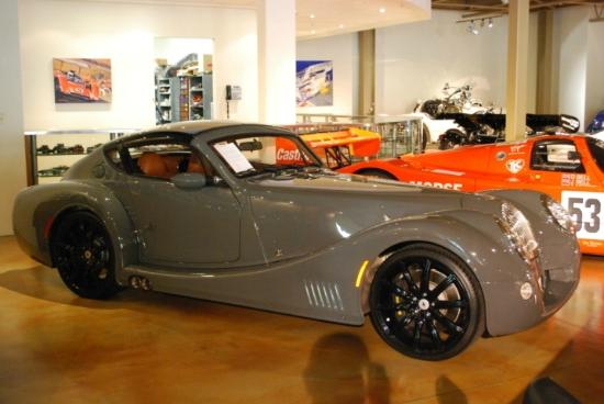 Canepa Motorsports Museum: A 2010 Morgan Areo Supersports. Only 200 were built.