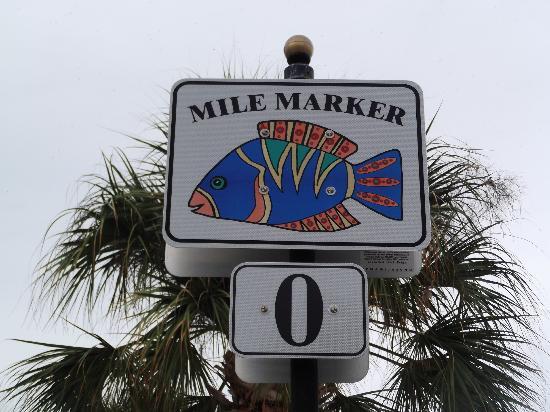 Island's End Resort: mile marker 0