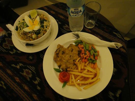 Luta Resort Toraja: DINNER room service