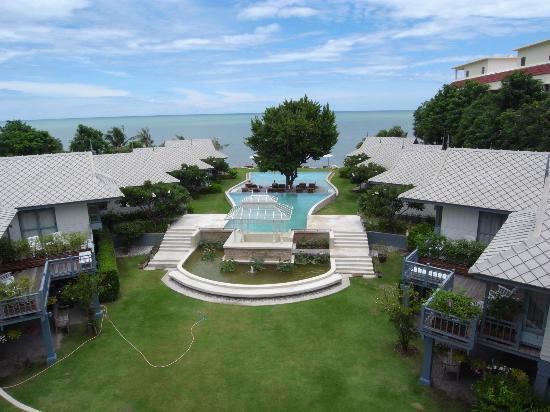 Devasom Hua Hin Resort: 部屋から眺める
