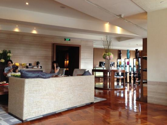 Les Suites Orient, Bund Shanghai : coffee lounge