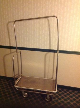 Hotel Carlisle: Need a sturdy cart to roll your bags in?