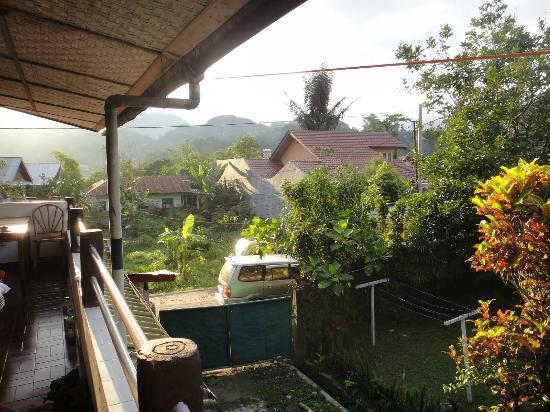 Hotel Pison : view from balcony