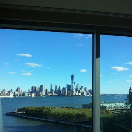 view from our room picture of w hoboken hoboken. Black Bedroom Furniture Sets. Home Design Ideas