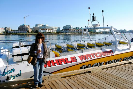Eagle Wing Whale Watching Tours: Our boat!