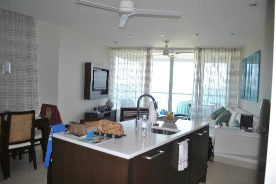 Gansevoort Turks + Caicos: living area