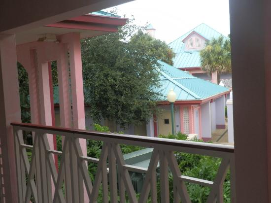 Disney's Caribbean Beach Resort: view from room