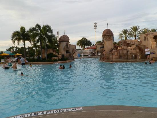 Disney's Caribbean Beach Resort: main pool