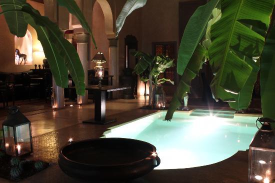 Riad Noir d'Ivoire: lobby