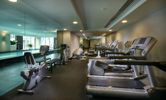 Sofitel Auckland Viaduct Harbour: Hotel Gym