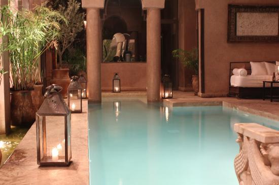Riad Noir d'Ivoire : pool