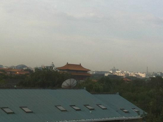 King Parkview Hotel: View from Roof Top Garden - Forbidden Palace