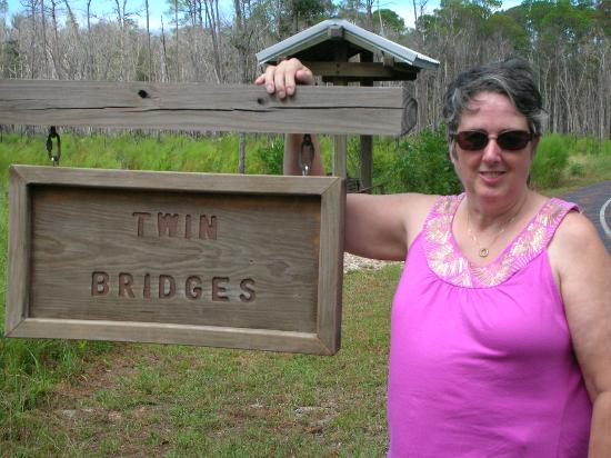 Hugh S. Branyon Backcountry Trail : Alligator land