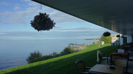 Motel Lac-Saint-Jean: Vue de la chambre