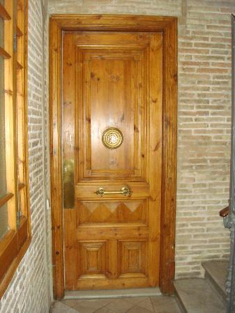 DestinationBCN Apartment Suites: front door to apartment PLUS another secure door behind this one