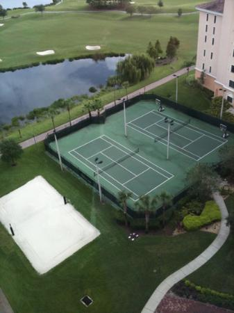 Rosen Shingle Creek: I love tennis and volley courts