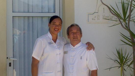 YHI Spa : Mme Elisabeth et M. Luis Wong, pour un massage en couple