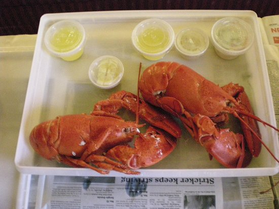 บาธ, เมน: SECOND DAY OF LOBSTER AT GILMORES