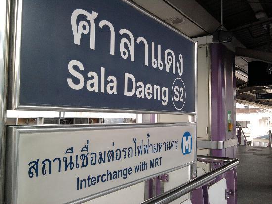 Take a Nap Hotel: Sala Daeng BTS Station