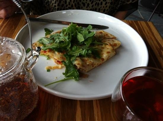 The Elephant Room: Prosciutto Crepe.