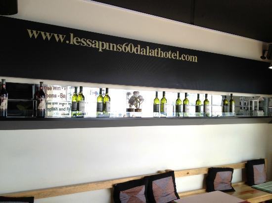 Les Sapins 60: Selection of Dalat wines