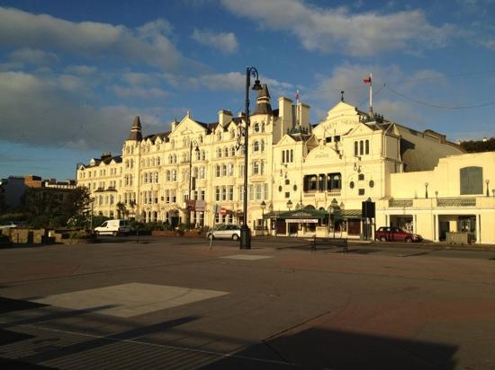 Sefton Hotel in morning light