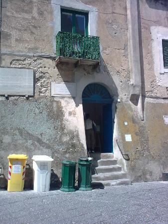 Museo Ignazio Cerio: Museum entrance