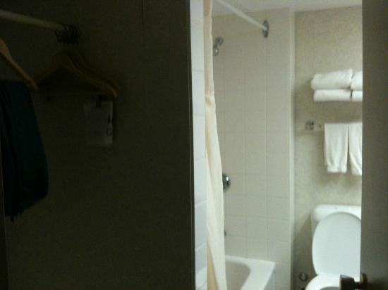 Clarion Hotel & Suites : Strange closet inside the bathroom