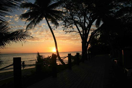 Wellesley Resort Fiji: Sunset