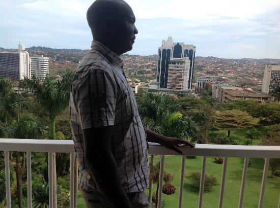 Sheraton Kampala Hotel: The View
