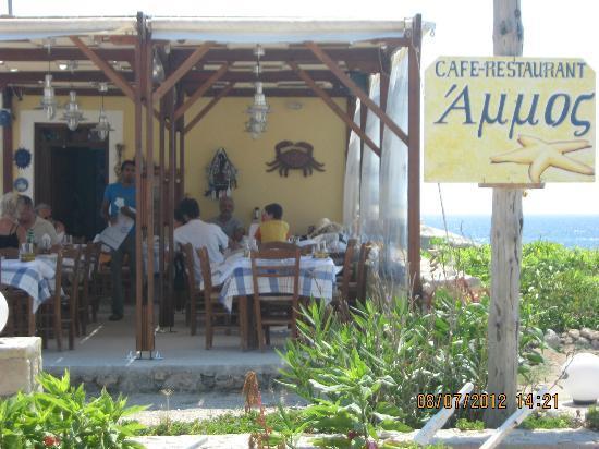 taverna Ammos: la veranda