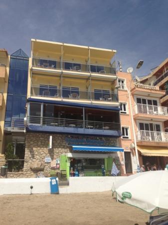 Hotel La Cala: view from beach