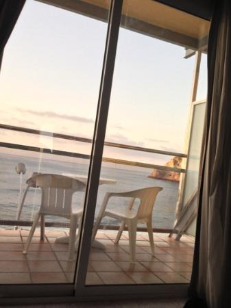 Hotel La Cala : view from our bed