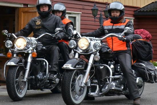 Hollandsk Gjestehus: Day trips with the motor cycle