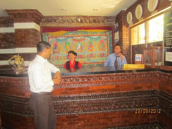 Heritage Home Hotel & Guest House: Reception