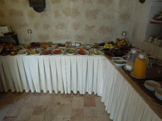 Aydinli Cave Hotel: Breakfast Area