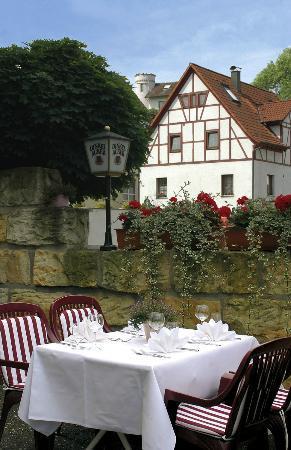 Landgasthof Rössle: Gartenterrasse