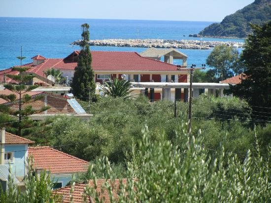 Koukounaria Hotel: The view from our balcony....