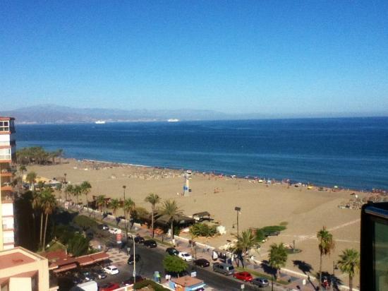 Sol Principe: Uitzicht van uit het hotel met zicht op malaga
