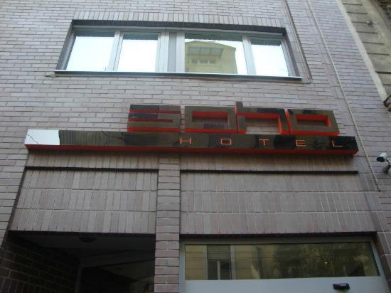 Soho Boutique Hotel: L'esterno