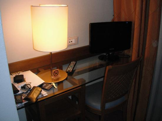 Hotel Executive: Desk and TV Entertainment Center
